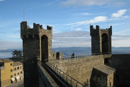 MONTALCINO AND THE ABBEY OF ST. ANTIMO