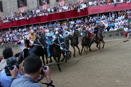 PALIO, THE ESSENCE OF SIENA