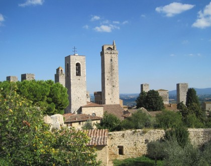 SAN GIMIGNANO, A JUMP TO THE MIDDLE AGES